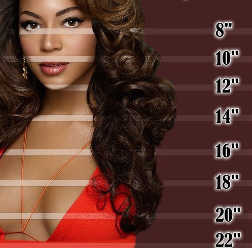 How Long Is 16 Inch Brazilian Straight Hair 110